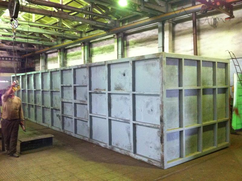 Фотографии Промышленные очистные сооружения