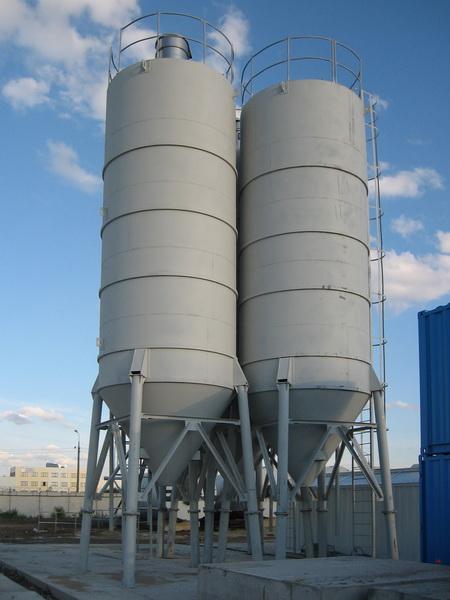 вертикальный цементный силос
